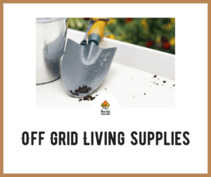 Off Grid Living Supplies